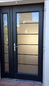 Pose Porte D39entre Aluminium Isolation Et Rnovation