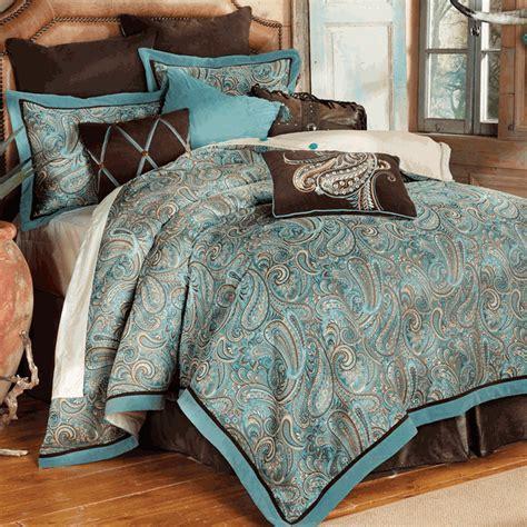 Western Bedding Sets: King Size Cypress Falls Bed Set Lone