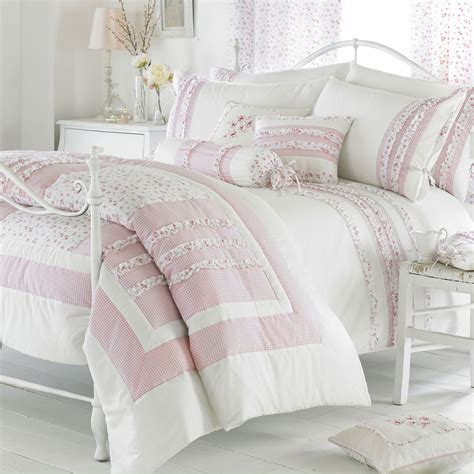 riva home vintage bedding set in pink next day delivery riva home vintage bedding set in pink