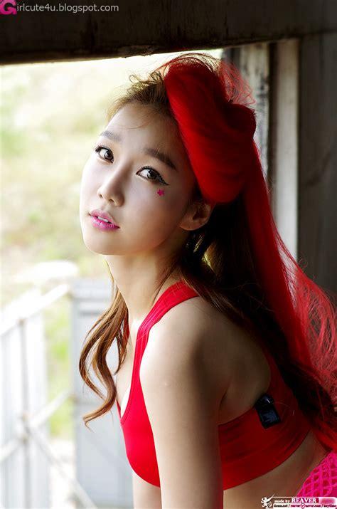 Xxx Nude Girls Go Jung Ah In Red