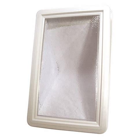 hublot de porte de garage hublot plastique rectangulaire pour porte de garage bricozor bricozor