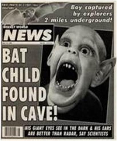 Bat Boy Weekly Science