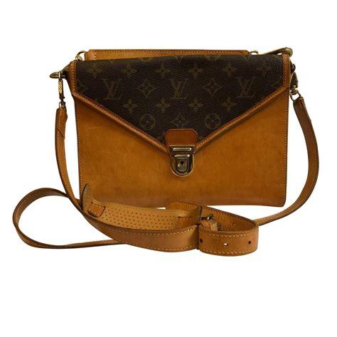 louis vuitton vintage double shoulder bag  chic selection