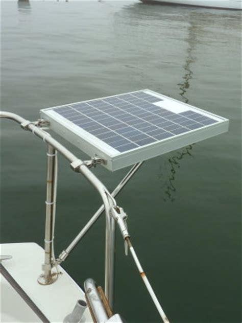 installing  small marine solar system photo gallery  compass marine    pbasecom