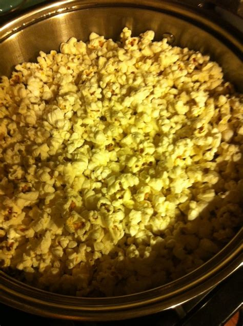 make your own popcorn microwave free