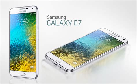 samsung galaxy e7 touch based handset