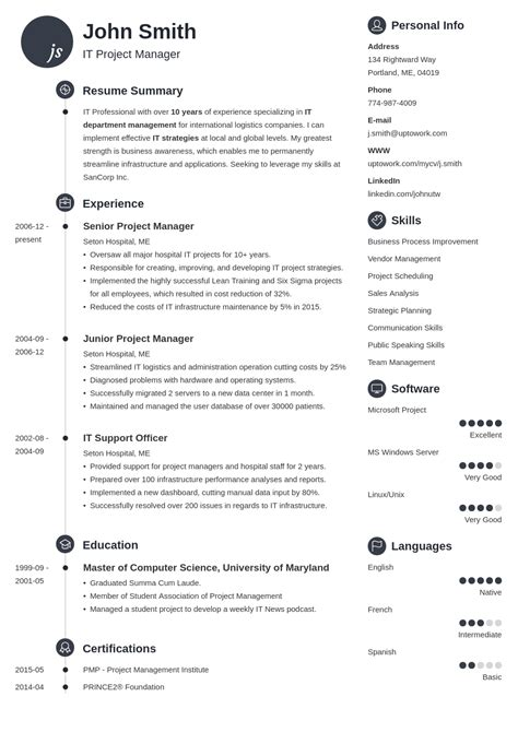 Creating A Cv For Free by 20 Cv Templates A Professional Curriculum Vitae