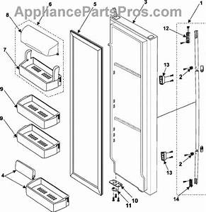 French Door Refrigerator  Parts For Samsung French Door