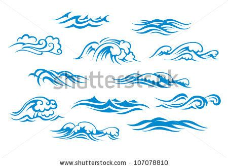 black maori wave copiable template sea waves stock photos images pictures shutterstock