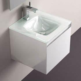 meuble salle de bain noir 40 cm 1 tiroir plan verre glass With meuble salle de bain 45 cm largeur