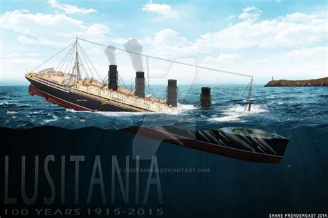 rms lusitania sinking animation model sinking fb by lusitania25 on deviantart
