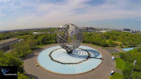 aerialworks drone video flushing meadows corona park