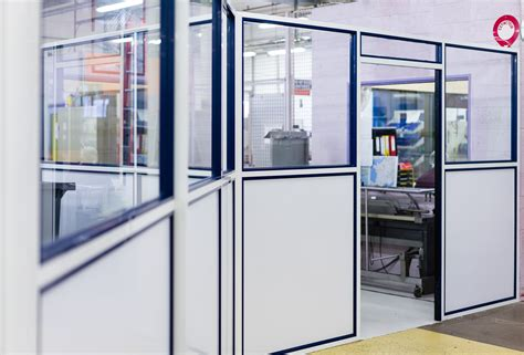 porte de bureau vitr馥 cloison amovible vitrée de bureau ou pleine ossature aluminium 54 meurthe et moselle clozal