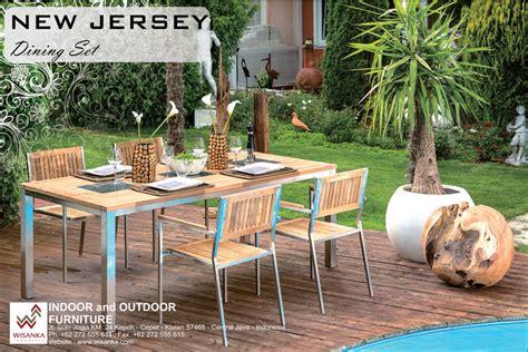 jersey dining set indonesia garden teak outdoor