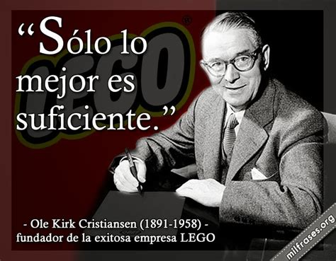 ole kirk cristiansen fundador de la exitosa empresa lego