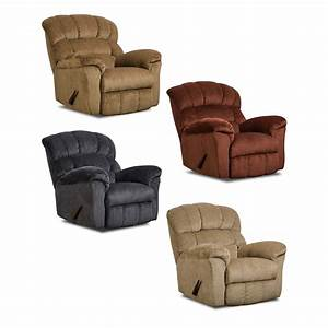 furniture padded angle arm and fully padded chaise with With sectional sofa rocker recliner