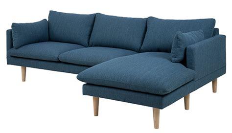 canapé d angle bleu canape d 39 angle à droite sunderland bleu