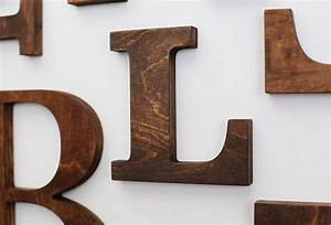 L alphabet wooden letters 6 7 inch vintage decorative letter for Abc wooden wall letters