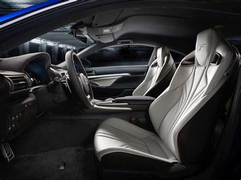 lexus rcf white interior lexus rc f seats