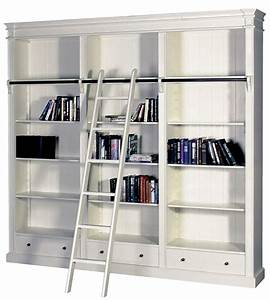 French Provincial Hamptons Open Library Bookcase with