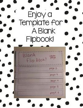 flip book template blank flipbook template by mme suzanne teachers pay teachers
