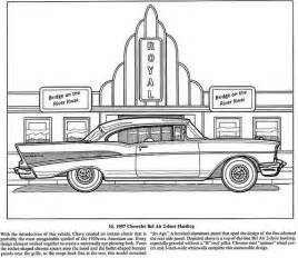 Classic Chevy Car Coloring Pages