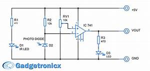 Infrared Sensor Module Circuit