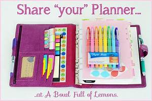 Organized planners | A Bowl Full of Lemons