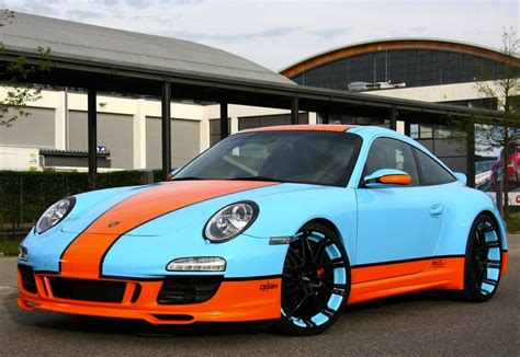 gulf racing colors gulf racing 997 porsche 911 goes for the retro look