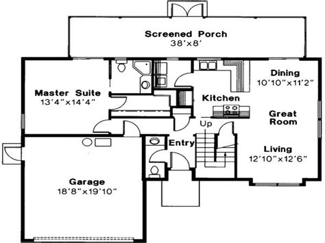 Small House Plans 3 Bedrooms 3 Bedroom Floor Plans with