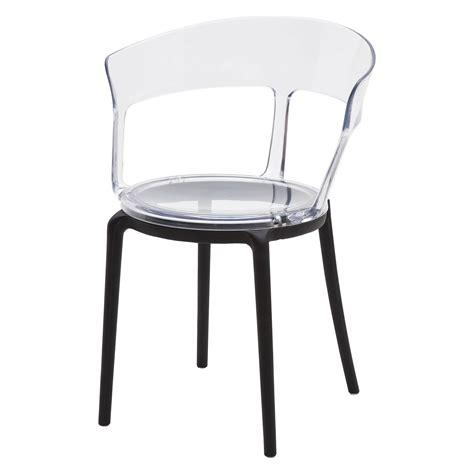 sedia di plastica sedia di design in plastica moderna con seduta e schienale