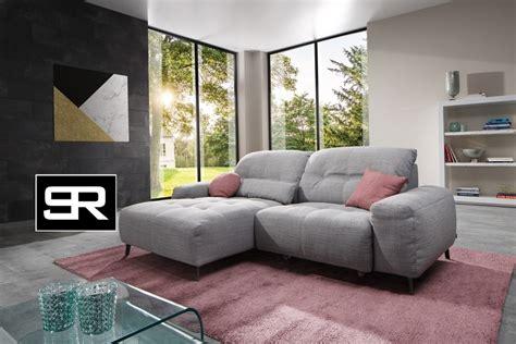 canapé avec 2 angles special petits espaces canapé angle électrique motorisé