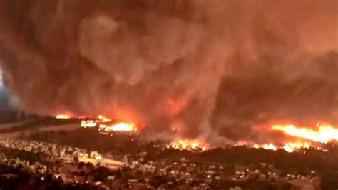 California Fire Tornado