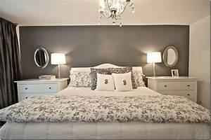 Dark grey bedroom walls before the master was a