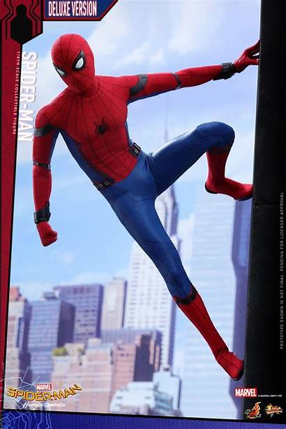 Figure Spider Homecoming Toys Deluxe Masterpiece Series