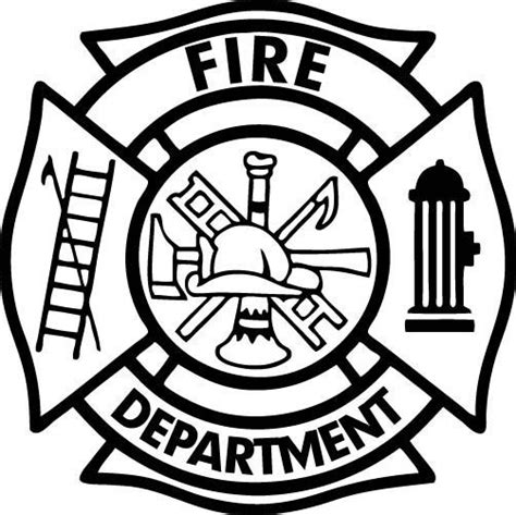 14569 firefighter equipment clipart black and white firefighter black and white firefighter clipart symbol