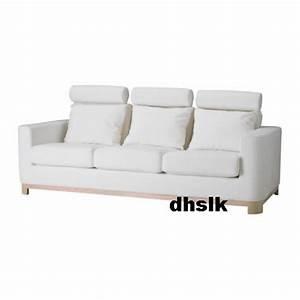 Ikea Bezug Sofa : ikea s len salen 3 seat sofa slipcover cover saganas white ~ Michelbontemps.com Haus und Dekorationen