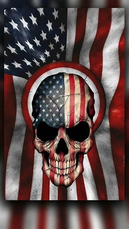 Skull Skulls Flag Tattoo American Flags Punisher