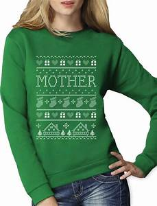 Funny Gift for Mom - Mother Ugly Christmas Sweater Women ...