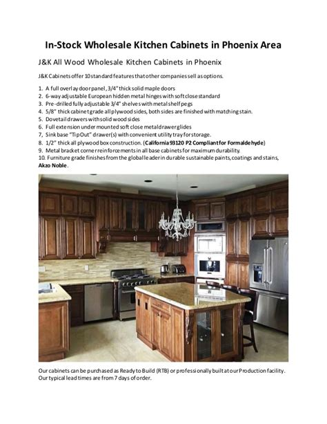 Cheap Cabinets Phoenix by In Stock Wholesale Kitchen Cabinets In Phoenix Area