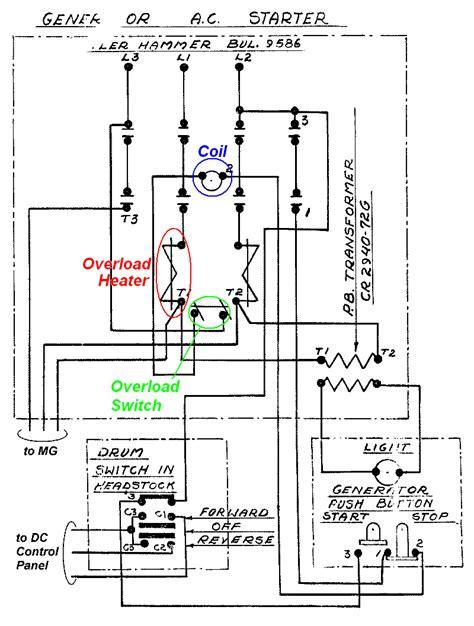 contactor wiring diagram symbols operations wiring diagram