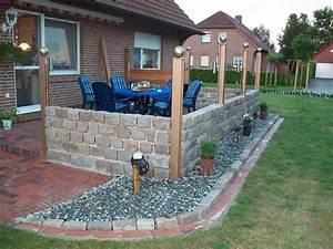 Terrassengestaltung Mit Sichtschutz : die garten zwerge blog archive terasse mit wind ~ Michelbontemps.com Haus und Dekorationen