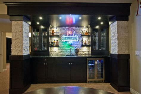man cave bar ideas  slake  thirst manly home bars
