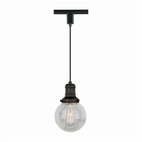 loft 1 light 5 875 quot bronze track light pendant at menards 174
