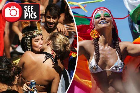 rio de janeiro carnival boozy brazilians enjoy 'world's