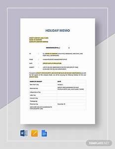 Google Docs Holiday Templates Sample Holiday Memo 9 Documents In Pdf Word Google Docs