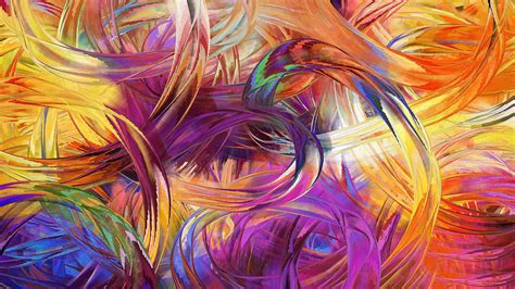 Finger Painting Art Hd Wallpaper  3d & Abstract Wallpapers
