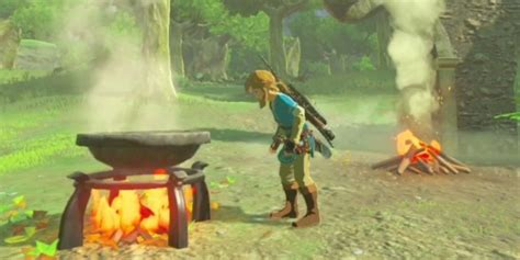 recipes  cook   legend  zelda breath