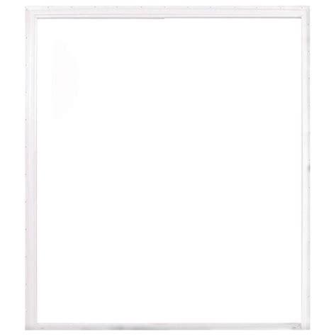 american craftsman 72 in x 80 in 50 series white vinyl