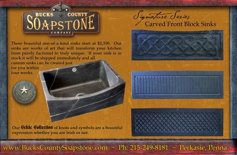 soapstone laundry sink value bucks county soapstone